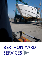 Boatyard Services at Berthon