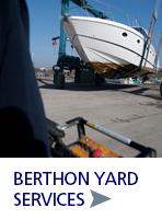 Boatyard Services at Berthon